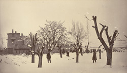 Winter scene near the R.E. Park [Sherpur Cantonment, Kabul]. 17